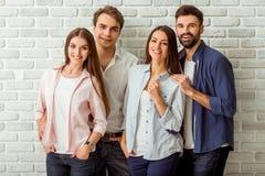 Groep jonge mensen Royalty-vrije Stock Afbeelding