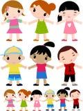 Groep kinderen royalty-vrije illustratie
