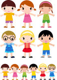 Groep kinderen Stock Foto's