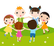 Groep kinderen Royalty-vrije Stock Fotografie