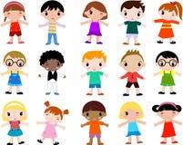 Groep kinderen Royalty-vrije Stock Foto's