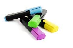 Groep kleurentellers Stock Fotografie