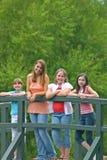 Groep Meisjes Royalty-vrije Stock Foto