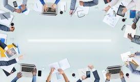 Groep Mensen en Bedrijfsconcepten Stock Fotografie