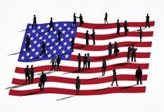 Groep Mensen in Globale Zaken: Amerika Stock Afbeelding