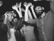 Groep Mensen het Dansen Concept royalty-vrije stock foto