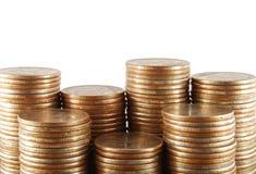 Groep muntstukken Stock Fotografie