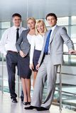 Groep partners royalty-vrije stock fotografie