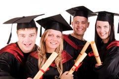 Groep studenten royalty-vrije stock foto's