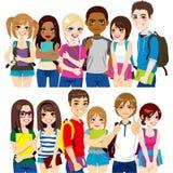 Groep Studenten vector illustratie