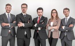 Groep succesvolle bedrijfsmensen royalty-vrije stock afbeelding