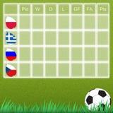 Groep talbe voetbal Royalty-vrije Stock Foto