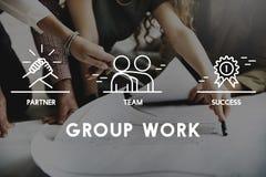 Groep Team Work Organization Concept Stock Foto's