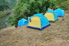 Groep tenten Royalty-vrije Stock Foto