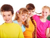 Groep tienermensen. Royalty-vrije Stock Fotografie