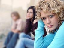 Groep tieners Stock Foto