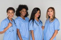Groep Verpleegsters stock fotografie