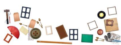 Groep verscheidene voorwerpen stock fotografie