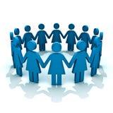 Groep vrouwen stock illustratie