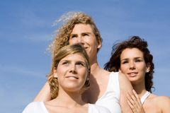 Groep vrouwen royalty-vrije stock fotografie