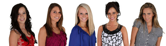Groep Vrouwen Stock Foto's