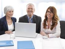 Uitvoerend Commercieel Team Royalty-vrije Stock Afbeeldingen
