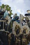 Groep zwarte mooie vrouwen bij de Notting-Heuvel Royalty-vrije Stock Afbeelding