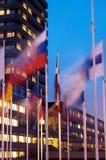 Groepen vlaggen Royalty-vrije Stock Afbeelding