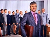 Groeps bedrijfsmensen in bureau Royalty-vrije Stock Afbeelding