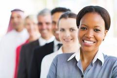 Groeps commercieel team Stock Afbeelding