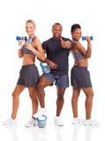 Groeps gezonde mensen Stock Foto's