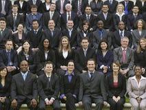 Groepsportret van Multi-etnisch Zakenlui royalty-vrije stock foto