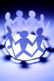 Groepswerk Royalty-vrije Stock Afbeelding