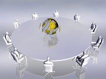 Groepswerk, conferentie. vector illustratie