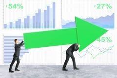 Groepswerk en succesconcept vector illustratie