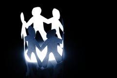 Groepswerk en vriendschap Royalty-vrije Stock Afbeelding