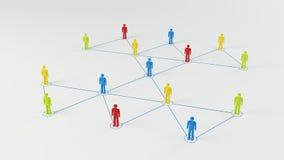 Bedrijfs Netwerk Royalty-vrije Stock Afbeelding