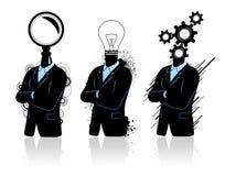 Groepswerk voor de groei en vooruitgang Stock Afbeeldingen