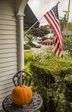 Großer Herbstkürbis Lizenzfreie Stockfotos