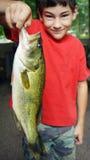 Großer Mund Bass Fish Lizenzfreie Stockfotografie