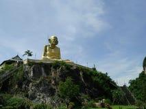 Großer Skulpturpriester Stockbilder