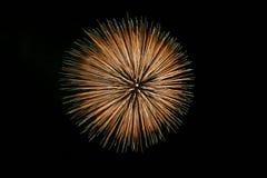 Großes Feuerwerk Lizenzfreies Stockbild