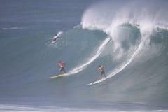 Großes Wellen-Ereignis 2009 Quecksilber-Eddie-Aikau Stockfoto