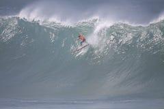 Großes Wellen-Ereignis 2009 Quecksilber-Eddie-Aikau Lizenzfreie Stockfotos