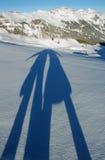 Groet van de wintervakantie Stock Foto