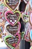 Groeten van Oktoberfest royalty-vrije stock foto