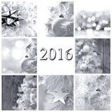 Groetenkaart 2016 Stock Afbeelding