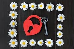 Groetkaart voor Valentine Stock Afbeeldingen