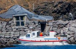 Grofin-Jachthafen Keflavik, Island lizenzfreie stockfotos