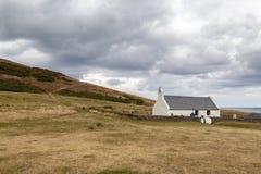 Grog Eglwys Υ εκκλησιών Mwnt στοκ φωτογραφία με δικαίωμα ελεύθερης χρήσης